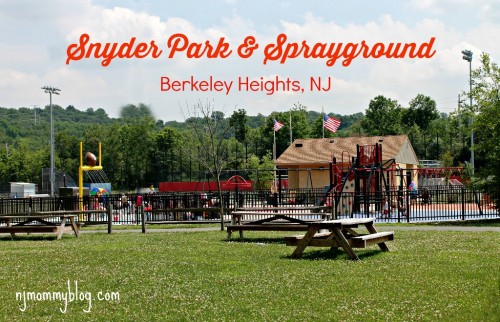 Snyder Ave Park Berkeley Heights
