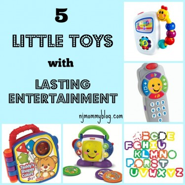 Favorite toys for babies