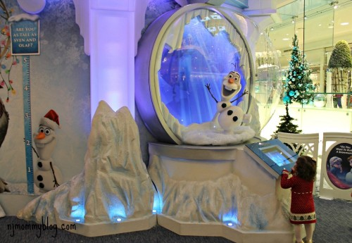 Frozen Ice Palace and photos with Santa
