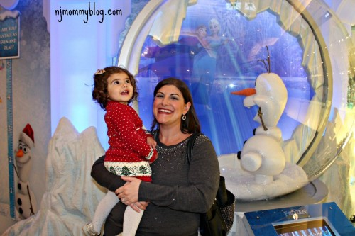 Frozen Ice Palace Opens at Short Hills Mall